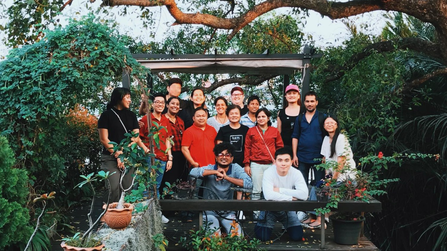Attendees of the First Asian Intersex Forum (Between 8th and 11th February 2018). Photographer: unknown.