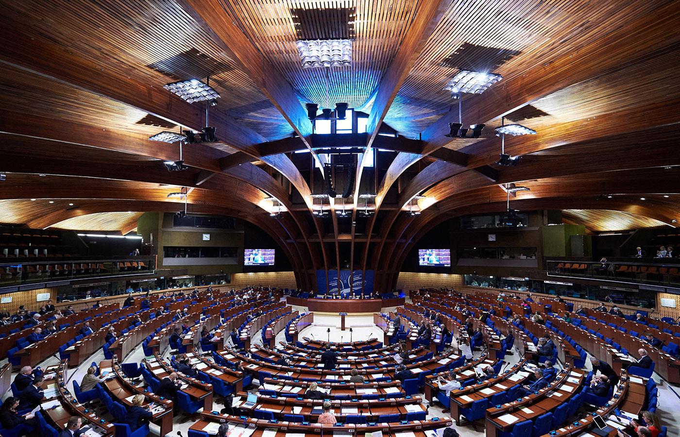Council of Europe Strasbourg. Photo Ellen Wuibaux.