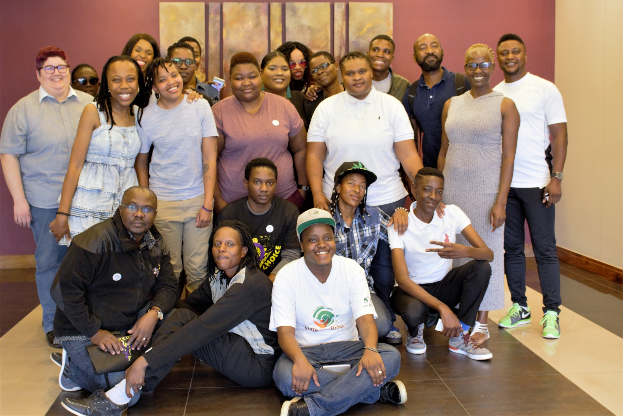Attendees First African Intersex Meeting, Johannesburg, 2017. Photographer: unknown.