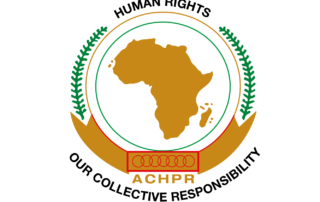 Flag ACHPR - African Commission on Human and Peoples' Rights
