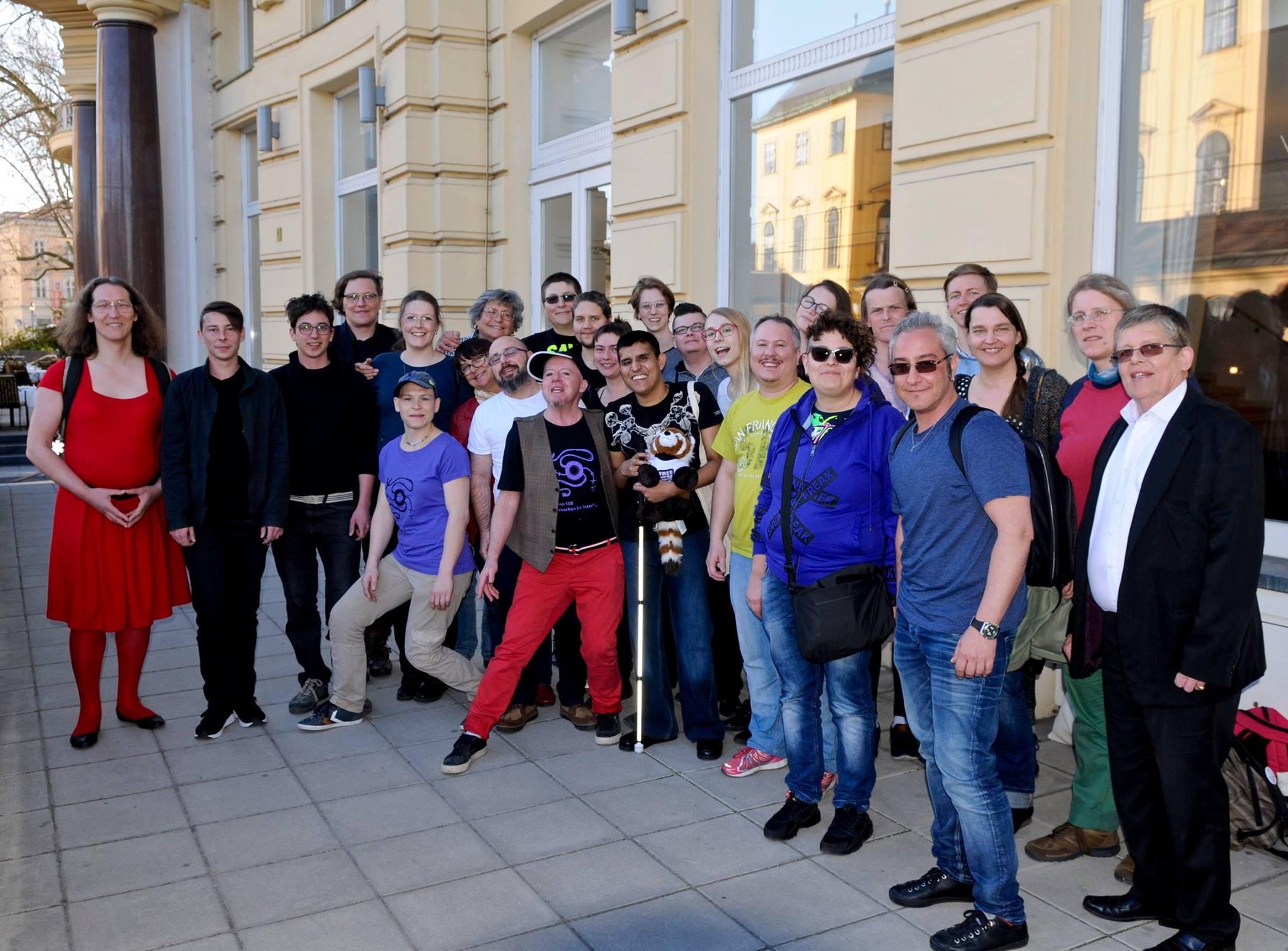 Attendees first European Intersex Community Event, Vienna 2017. Photographer unknown.